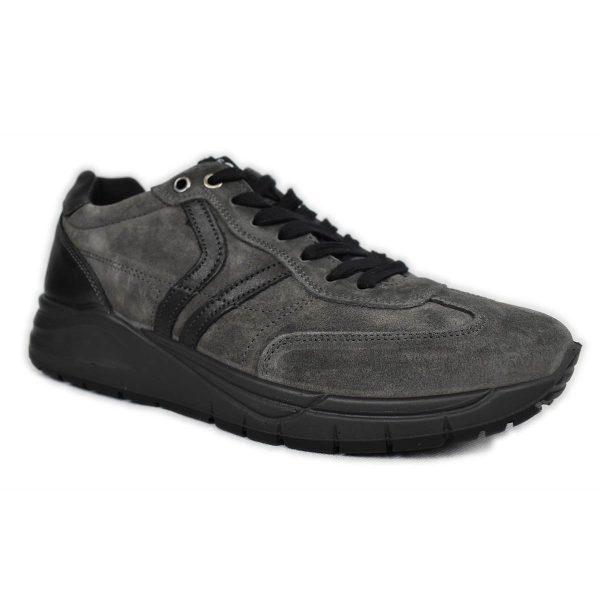 IGI&CO – Sneakers in Scamosciato Grigio con plantare memoryfoam