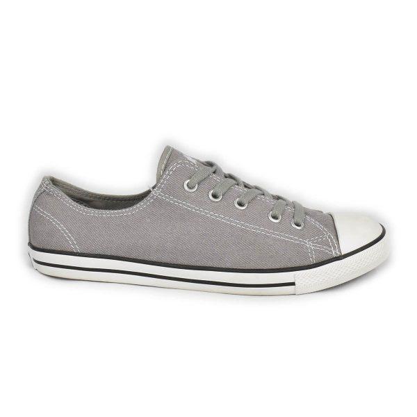 Converse – Scarpa bassa grigia modello dainty