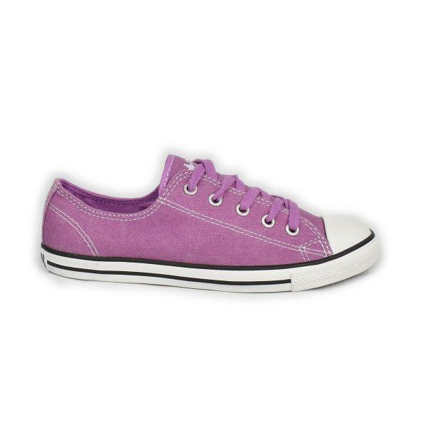 Converse – Sneakers bassa viola modello dainty