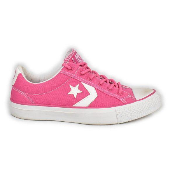 Converse – Sneakers bassa rosa