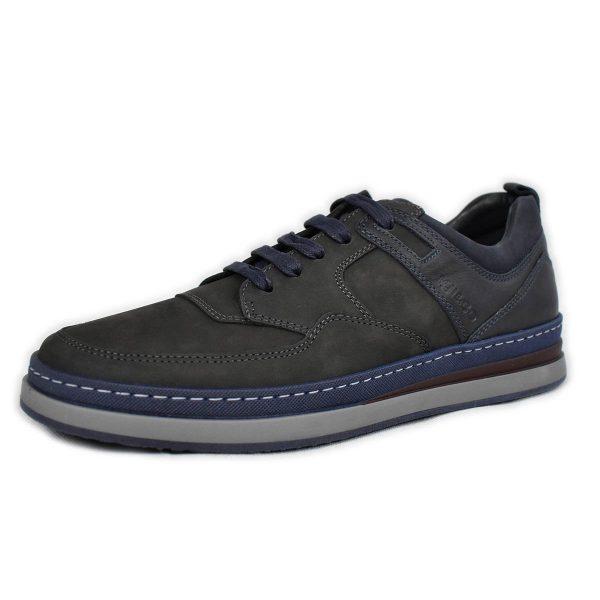 IGI&CO – Sneakers in Nabuk grigio scuro