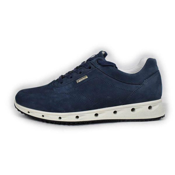 IGI&CO – Sneakers in nabuk blu in Gore-Tex