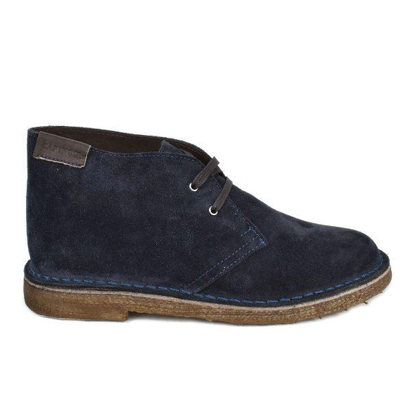 Polacchino scamosciato blu – CafèNoir FTD673