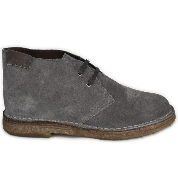 Polacchino scamosciato grigio antracite – CafèNoir FTD673