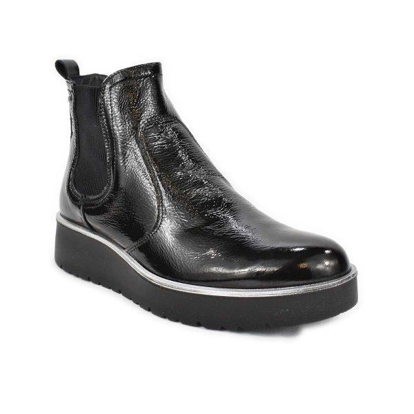 Stivaletto in vernice nera con elastico – IGI&CO 4168800