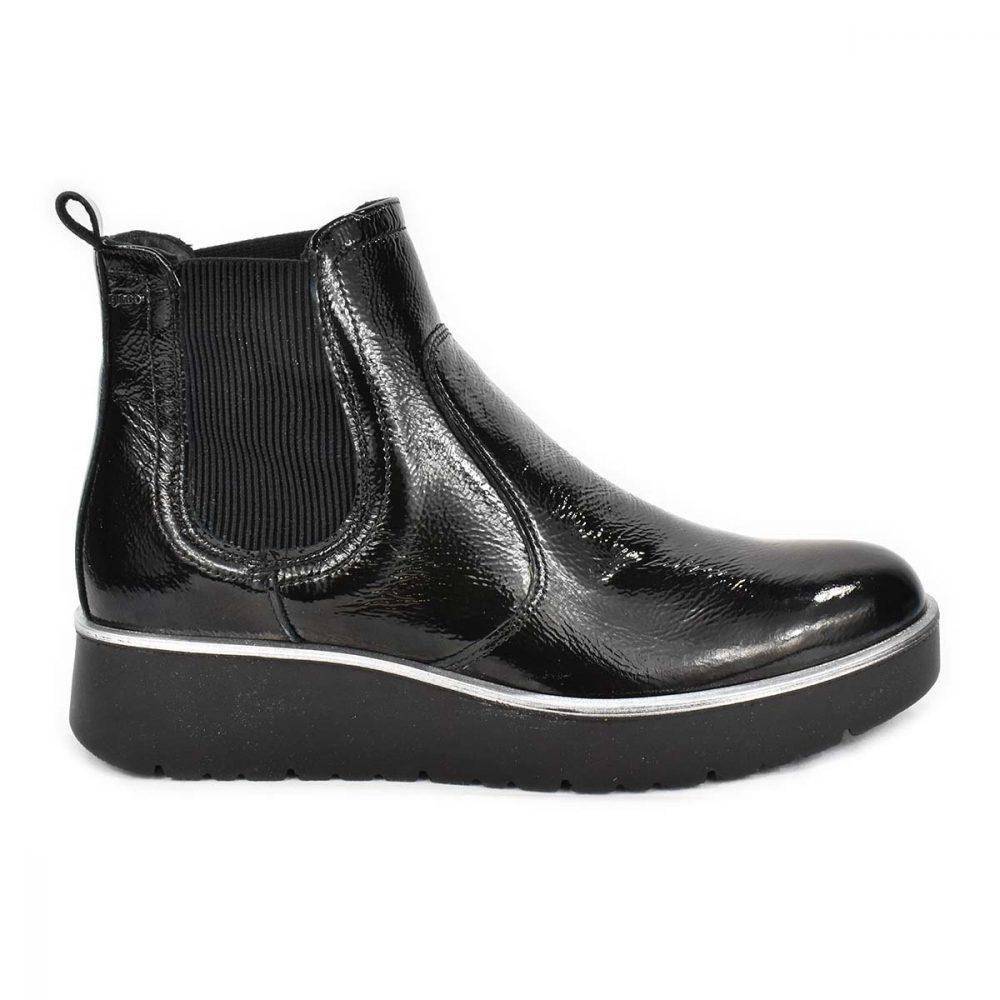 Stivaletto in vernice nera con elastico - IGI&CO 4168800